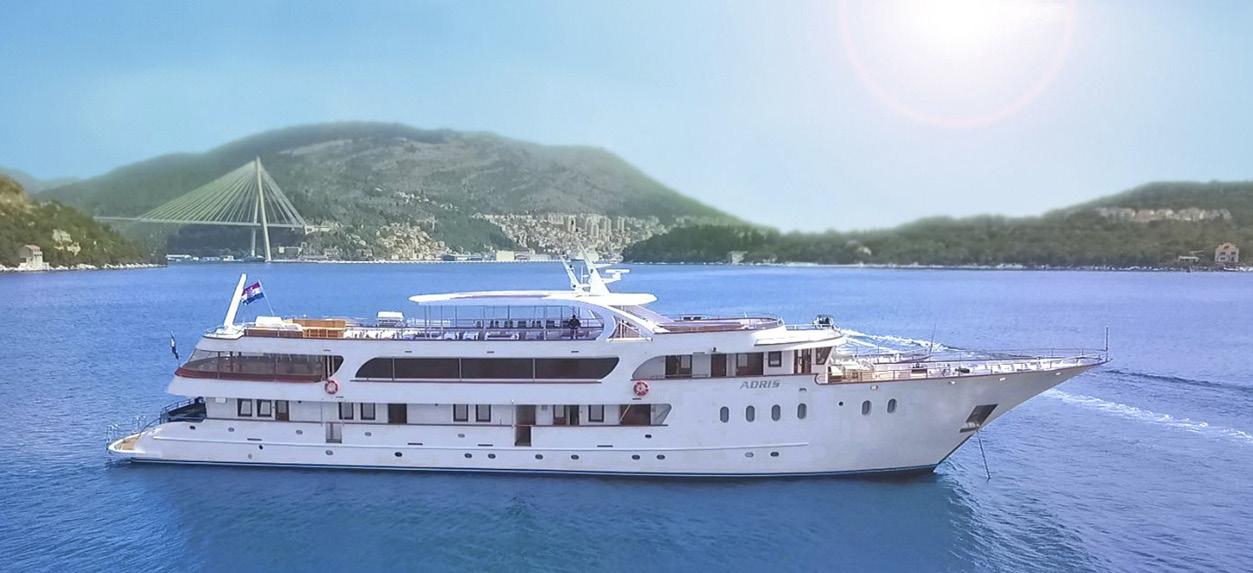 Exklusive-Charter Kreuzfahrt durch die Inselwelt Kroatiens